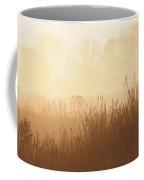 Fields Of Tall Grass In The Mist Coffee Mug