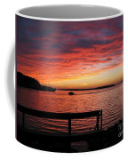 Fiery Afterglow Coffee Mug