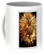 Fiery Floral Coffee Mug