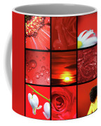 Fiery Red Coffee Mug
