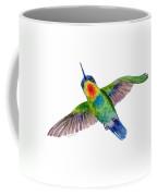 Fiery-throated Hummingbird Coffee Mug