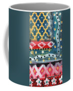 Fiesta 4- Colorful Pattern Painting Coffee Mug