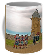 Fife And Drum Parade In Louisbourg Living History Museum-1744-ns Coffee Mug