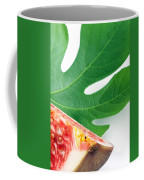 Fig And Leaf Coffee Mug