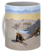 Fight For The Waterhole Coffee Mug
