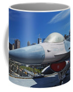 Fighting Falcon At Interpid Museum Coffee Mug