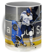 Fighting For The Puck Coffee Mug