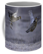 Fighting Prairie Chickens Coffee Mug