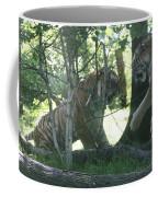 Fighting Siberian Tigers Coffee Mug
