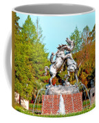 Fighting Stallions Coffee Mug