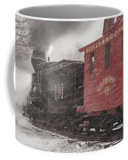 Fighting Through The Winter Storm Coffee Mug