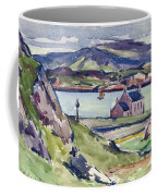Figure And Kirk   Iona Coffee Mug by Francis Campbell Boileau Cadell