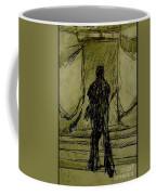 Figure Decending Coffee Mug