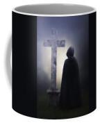 Figure On Graveyard Coffee Mug by Joana Kruse