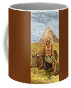 Figure Symbolizing Egyptian Coffee Mug by Getty Research Institute