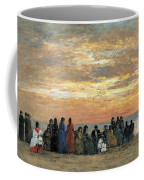Figures On The Beach In Trouville Coffee Mug
