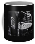 Film Homage Alfred Hitchcock Torn Curtain 1966 Orpheum Theater St. Paul Minnesota 1966 Coffee Mug