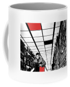 Film Homage Anthony Perkins Orson Welles The Trial 1962 Coffee Mug