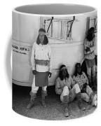 Film Homage Apache Extras The High Chaparral 1969 Old Tucson Arizona 1969-2008  Coffee Mug