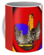 Film Homage Arthur Rothstein Theater Row  Majestic Melba  Palace Theaters Dallas Texas 1942-2008 Coffee Mug