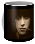 Film Homage Billy Bitzer Miriam Cooper Intolerance 1916 Screen Capture Color Added 2012 Coffee Mug by David Lee Guss