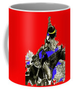Film Homage Cameron Mitchell The High Chaparral Fighting Apache Publicity Photo Collage Coffee Mug