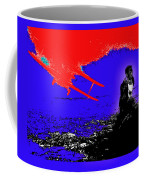 Film Homage Cary Grant Biplane Collage Publicity Photo North By Northwest 1959-2012 Coffee Mug