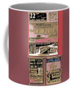 Film Homage Collage Drive-in Ads 1953 Tucson Arizona 2008 Coffee Mug