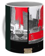 Film Homage Collage Fox Tucson Closed Last Bill  Original Ticket Stub 1984-1974-2012                 Coffee Mug
