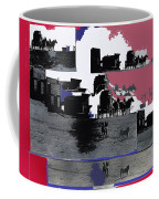 Film Homage Dirty Dingus Magee Collage Number 2 1970-2012 Mescal Arizona Coffee Mug