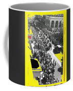 Film Homage Fox Tucson Theater Marquee Cole Bros. Circus Elephant Parade 1936-2008 Coffee Mug