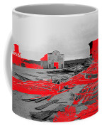 Film Homage High Plain Drifter 1973 Monte Walsh Set Windstorm Mescal Arizona 1969-2012 Coffee Mug by David Lee Guss