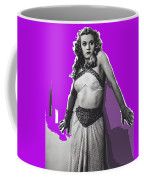 Film Homage Jean Rogers Dale Arden Flash Gordon Serial 1936 Publicity Photo Color Added 2008 Coffee Mug