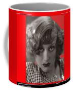 Film Homage Joan Crawford Louis Milestone Rain 1932 Collage Color Added 2010 Coffee Mug
