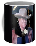 Film Homage John Wayne The Man From Monterey 1933 Cardboard Cut-out Window Tombstone Arizona 2004  Coffee Mug