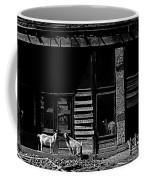 Film Homage King Vidor   Billy The Kid 1930 Wild Goats Ghost Town Billy The Kid Haunt White Oaks Nm  Coffee Mug