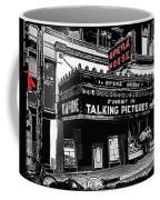 Film Homage Opera House Tucson Arizona Circa 1929-2012 Coffee Mug