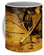 Film Homage Sergei Eisenstein Sutter's Gold 1930 Mining Sluice 1880's-2008 Coffee Mug