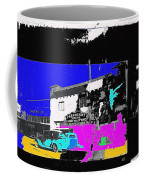 Film Homage Shirley Temple Dimples 1936 Paramount Collage Casa Grande Arizona 1936-2012 Coffee Mug
