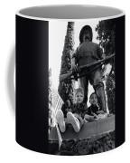 Film Homage Tearing Down The Spanish Flag 1898 Veteran's Day Parade 1984 Armory Park Tucson Coffee Mug