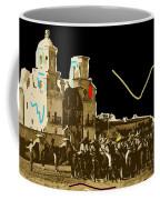Film Homage The Gay Desperado Set San Xavier Mission Tucson Arizona 1936-2008 Coffee Mug