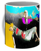 Film Homage Tor Johnson Ed Wood Plan Nine From Outer Space 1959 Publicity Photo Color Added 2012 Coffee Mug