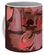 Film Homage William S. Hart Hell's Hinges Collage  1916-2012  Coffee Mug