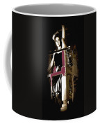 Film Noir  Dance Hall Girl Looks Down On Robert Mitchum The King Of Noir Filming  Old Tucson Az 1968 Coffee Mug