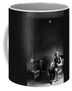Film Noir Dick Powell  Cornered 1945 2 Self Portrait Antlers Hotel Ghost Town Victor Colorado 1971  Coffee Mug