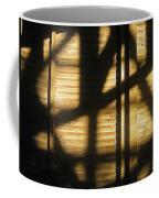 Film Noir Dick Powell Edward Dmytryk Cornered 1945 Building Interior Shadows Coolidge Arizona  2004 Coffee Mug