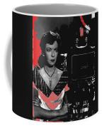 Film Noir Director Ida Lupino Color Added 2012 Coffee Mug