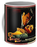 Film Noir Gerd Oswald Robert Wagner A Kiss Before Dying 1956 Poster Color Toning Added 2008 Coffee Mug