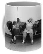 Film Noir Humphrey Bogart Laureen Bacall Dark Passage 1947 1 Bus Terminal St. Paul Mn 1979 Coffee Mug
