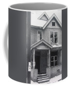 Film Noir Its A Wonderful Life 1947 Never Been Born Section Condemned House Minneapolis 1966 Coffee Mug